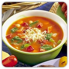 Minestrone leves recept